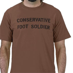 Conservative Foot Soldier - shirt