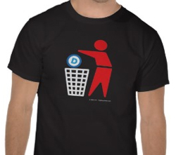 Dispose w Dem symbol