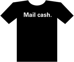 Mail cash - shirt