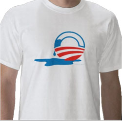 Leaking Obama - shirt