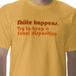 Shiite Happens - shirt