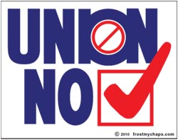 Union NO (ver. 2)- sticker